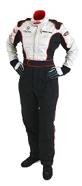 Flamecrusher Stealth 3 Layer Race suit - Click for larger image