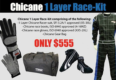 Chicane 1-Layer RaceKit - Click for larger image