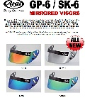 Arai Visors - Click for larger image