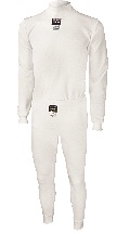 TB Racing White Underwear Set - HALF PRICE - Click for larger image