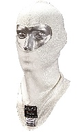 TB Racing White Balaclava - Click for larger image