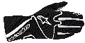 Alpinestars 1-K Race Karting Glove - Click for larger image